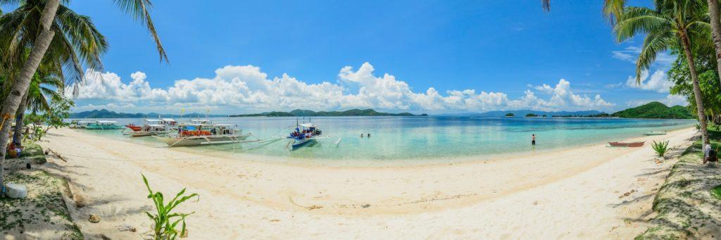 Palawan - Coron Tour. Banana Island in Coron