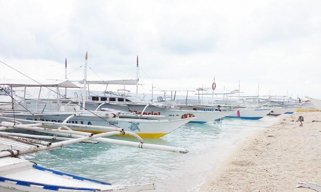 Boat to Balicasag Island