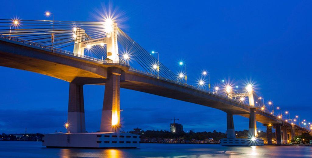 Cebu Bridge in Cebu-Boracay Tour