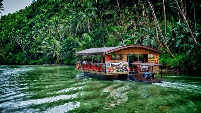 Loboc River Cruising in Bohol