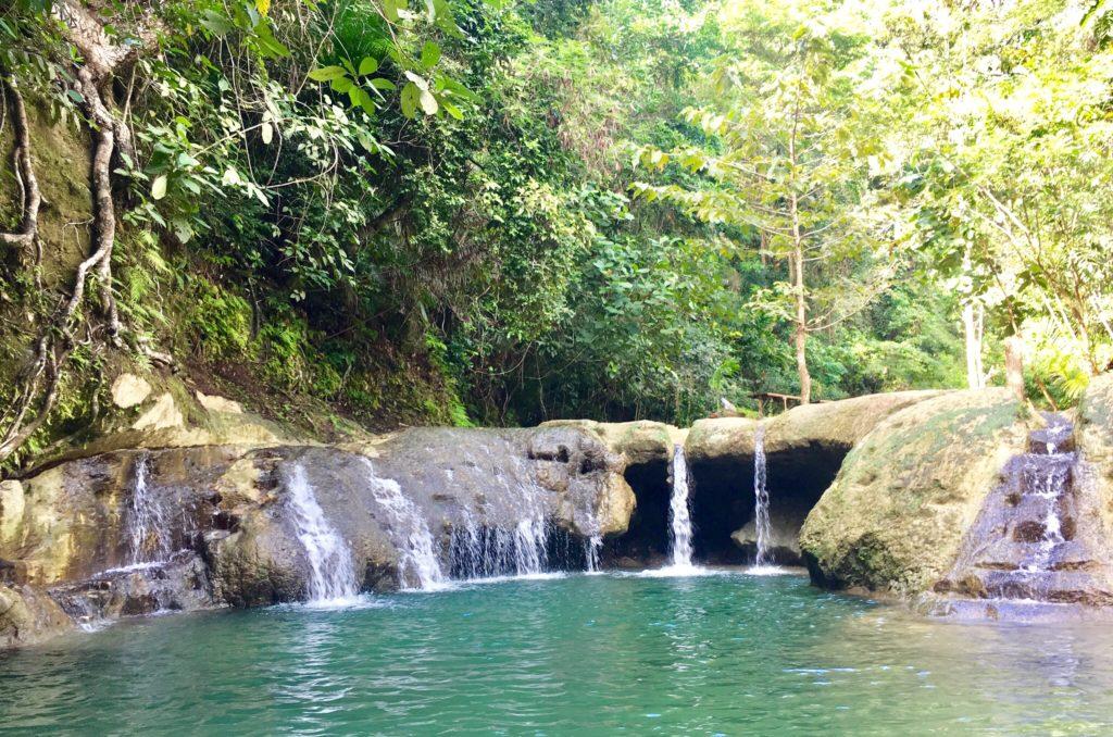 Locong falls in siquijor