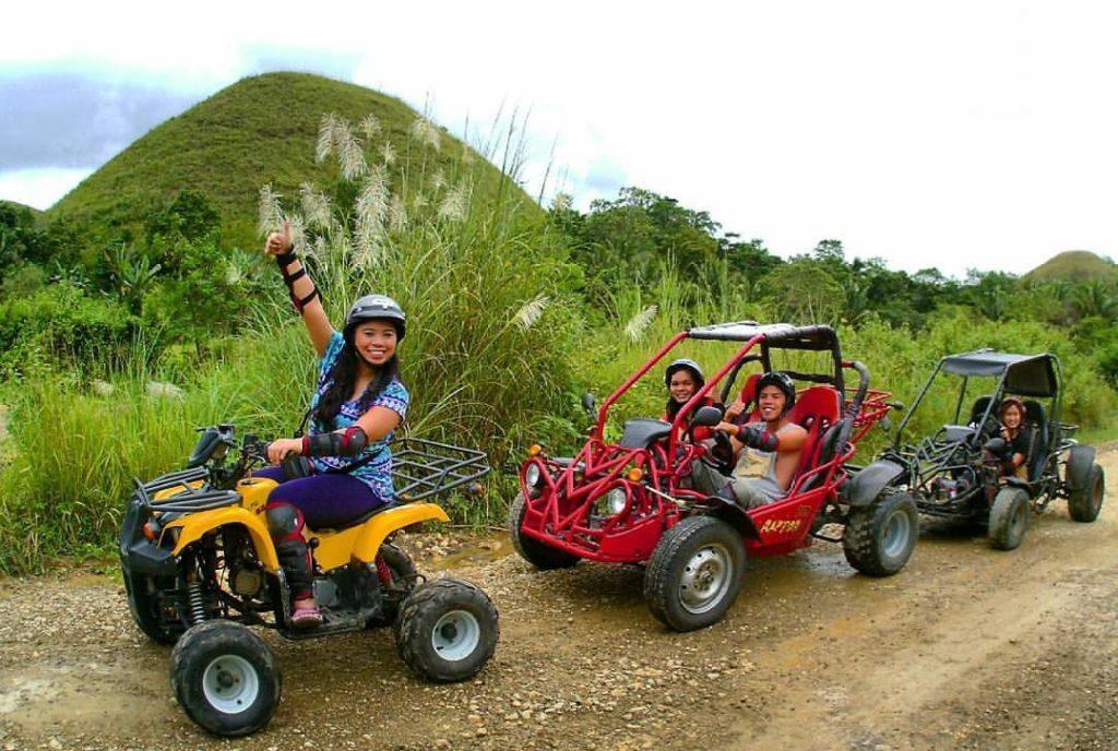 foothills adventure in Bohol
