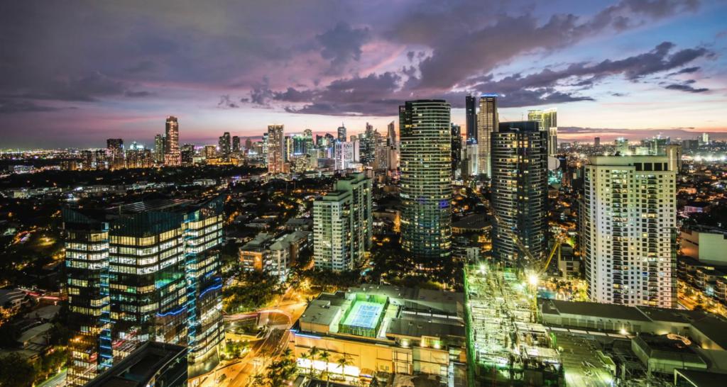 Metro Manila in the Philippines