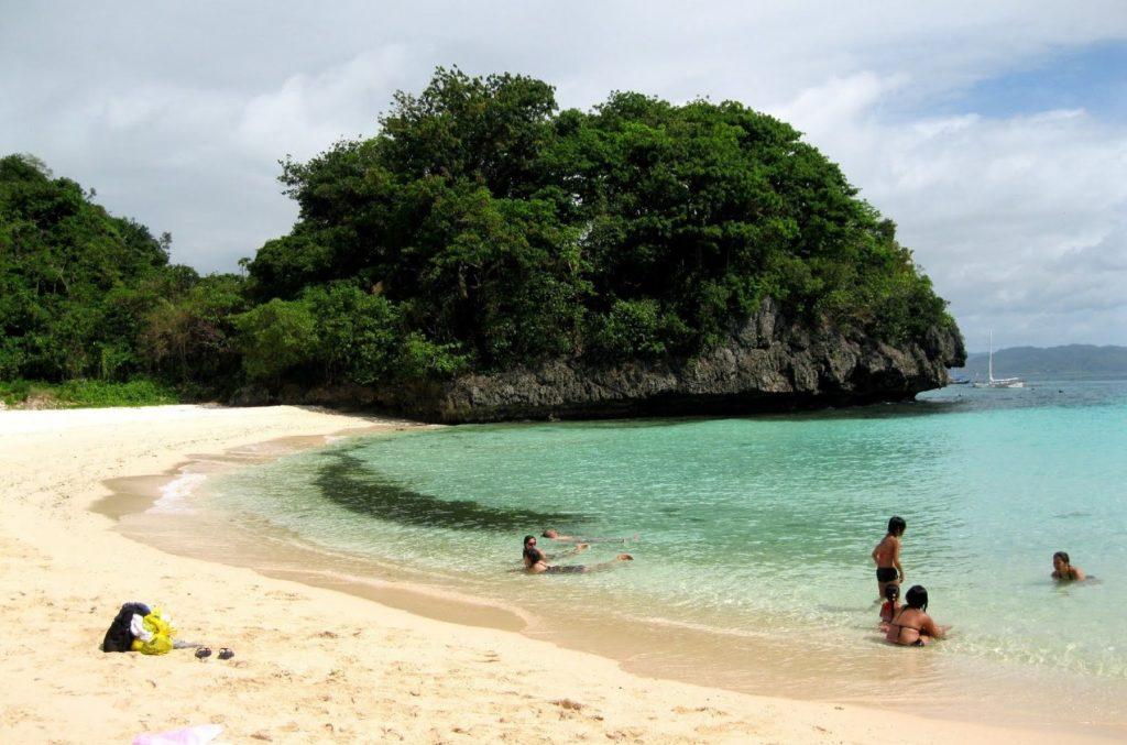 punta bunga beach in Boracay