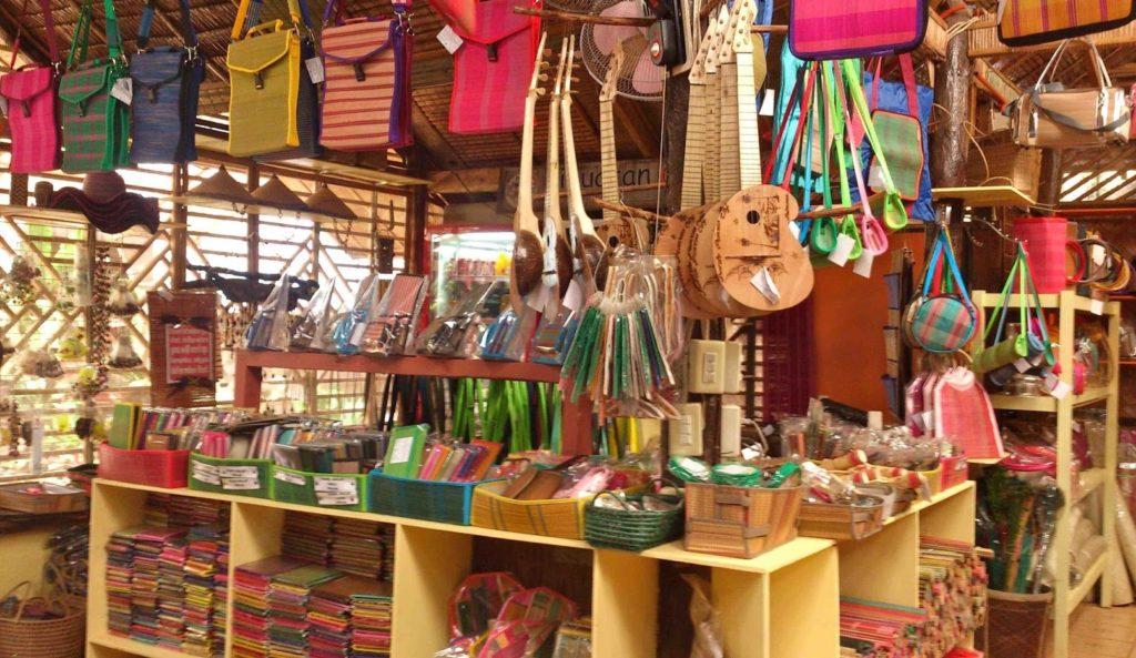 souvenir shop in bohol