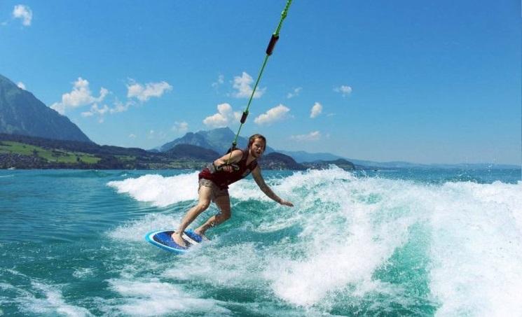 surfing in Boracay