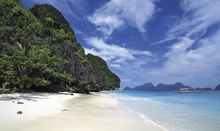 Star Beach in El Nido, Tour C Palawan