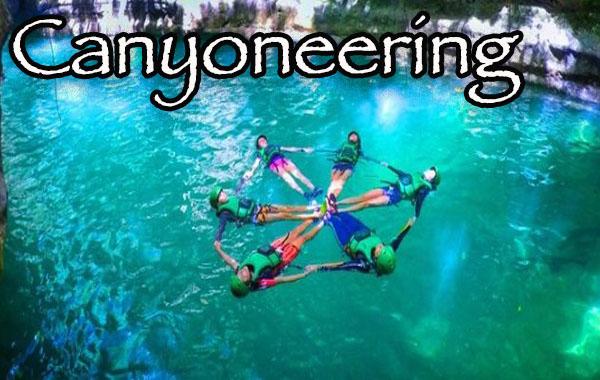 Cebu Canyoneering tour
