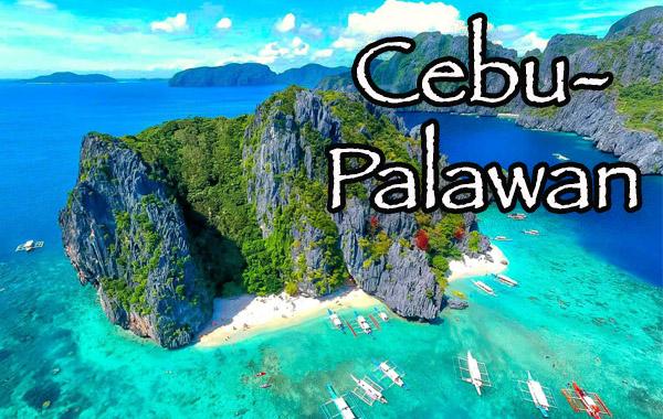 Cebu-Palawan Tour package