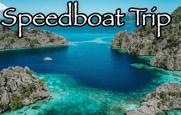 Coron speedboat island hopping